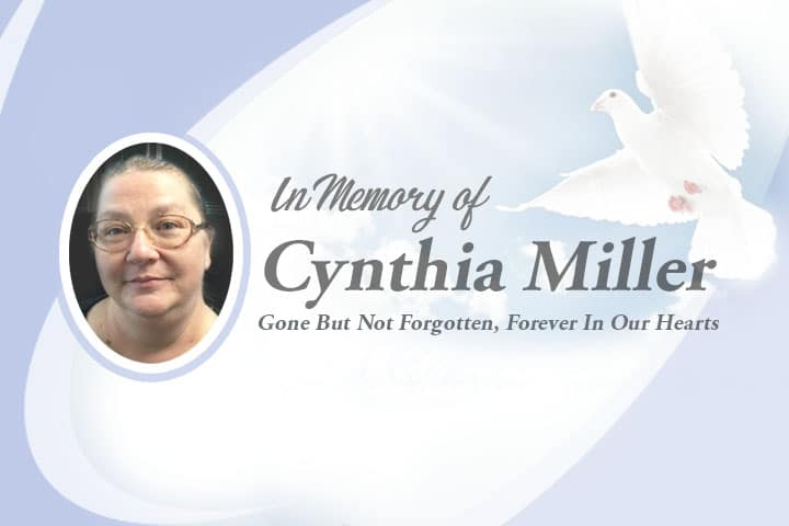 , In Memory of Cynthia Miller